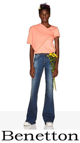 Jeans Benetton 2018 Spring Summer Women 1