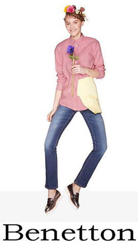 Jeans Benetton 2018 Spring Summer Women 2
