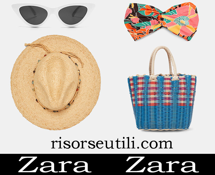 New Arrivals Beach Accessories Zara 2018 Beachwear