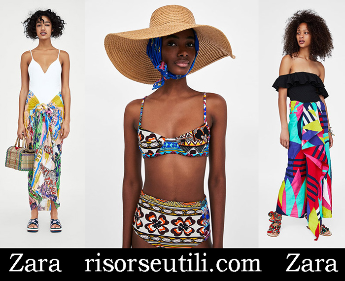 New Arrivals Beachwear Zara 2018 Sea Fashion