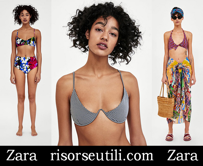New Arrivals Bikinis Zara 2018 Swimwear