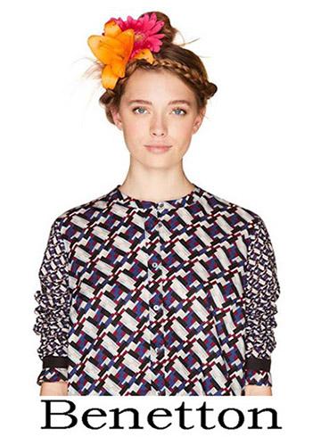 Shirts Benetton 2018 Spring Summer Women 1