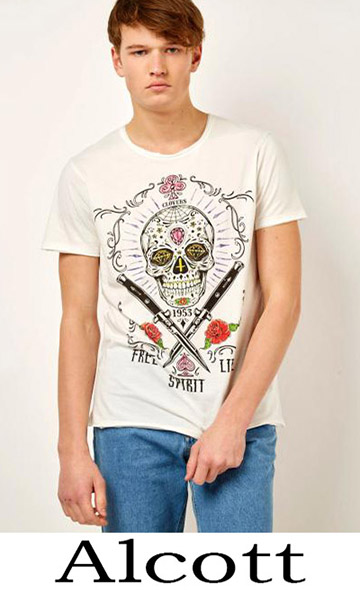 T Shirts Alcott 2018 Spring Summer For Men