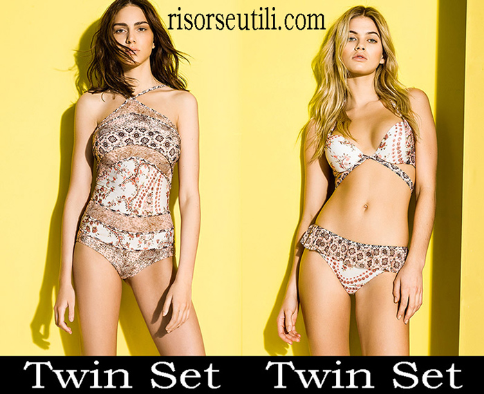 New Arrivals Beachwear Twin Set 2018 Swimwear