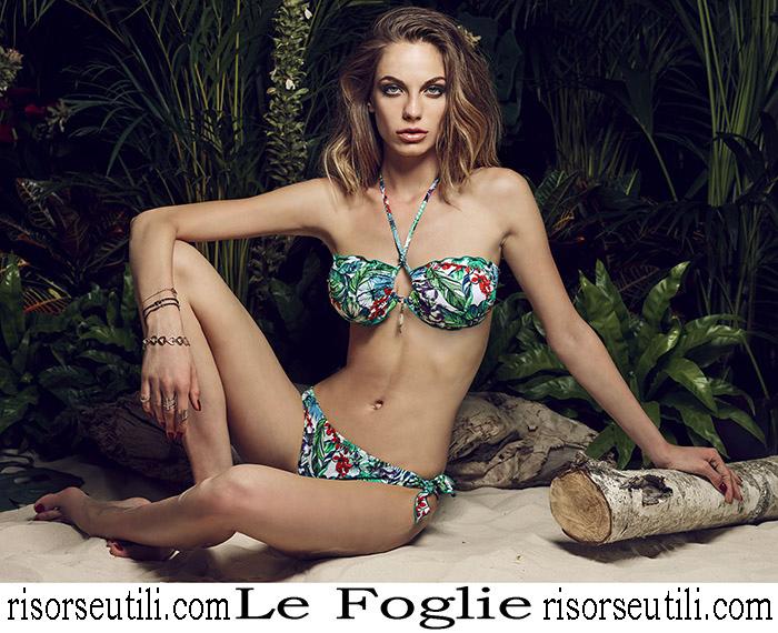 New Arrivals Bikinis Le Foglie 2018 Swimwear