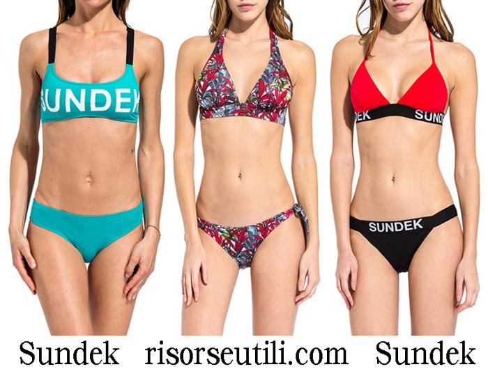 New Arrivals Bikinis Sundek 2018 Swimwear