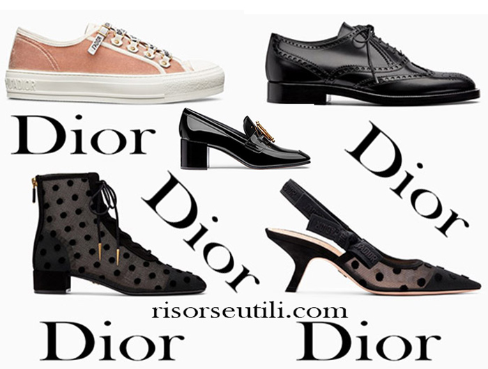 New Arrivals Shoes Dior 2018 Footwear For Women