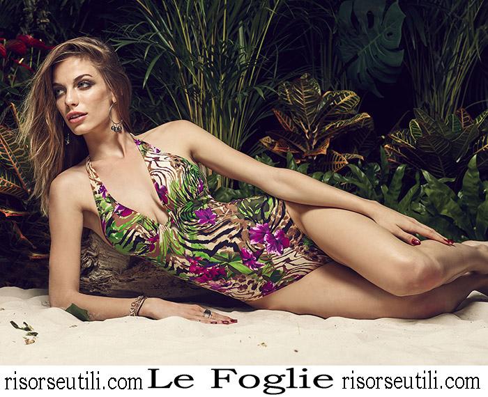 New Arrivals Swimsuits Le Foglie 2018 Swimwear