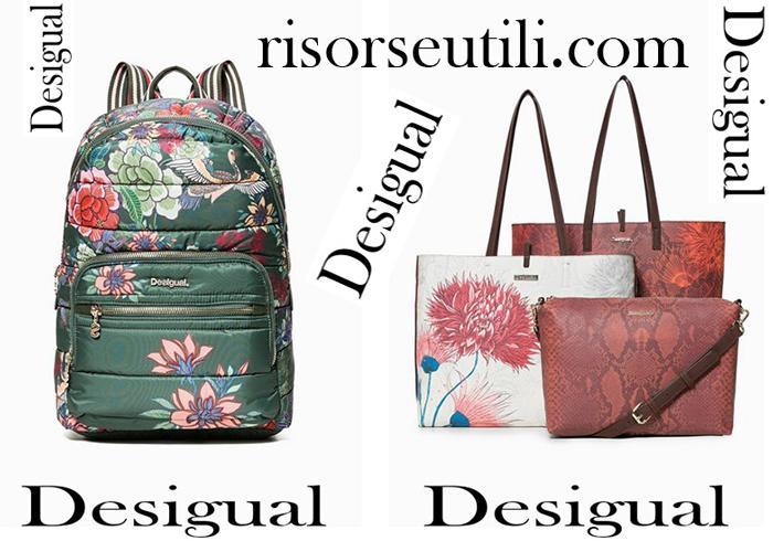 New Arrivals Bags Desigual 2018 Women Handbags