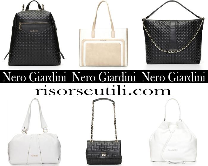 New Arrivals Bags Nero Giardini 2018 Handbags