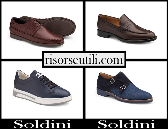 New Arrivals Shoes Soldini 2018 Footwear For Men