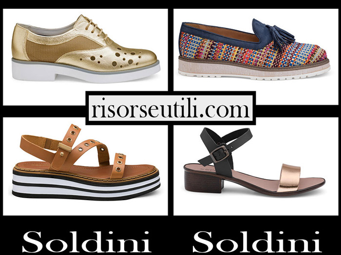 New Arrivals Shoes Soldini 2018 Footwear For Women