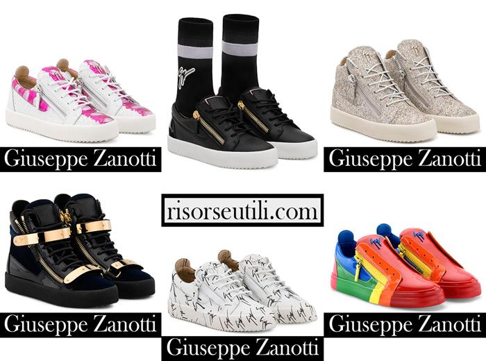 New Arrivals Sneakers Zanotti 2018 2019 Footwear