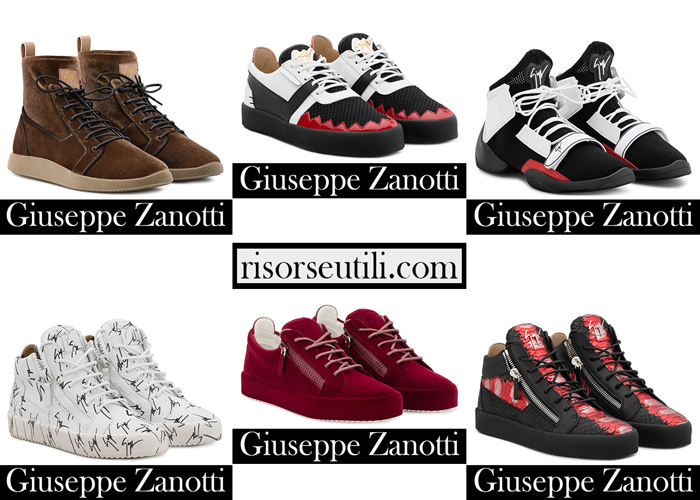 New Arrivals Sneakers Zanotti 2018 2019for Men