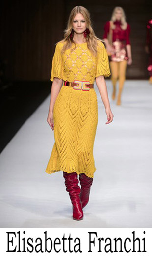 Fashion Elisabetta Franchi 2018 2019 New Arrivals Women's 5