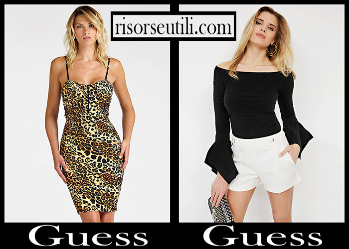 Fashion Guess 2018 2019 Women's New Arrivals Fall Winter