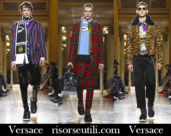 5f63decf Fashion Versace 2018 2019 Men's New Arrivals Fall Winter