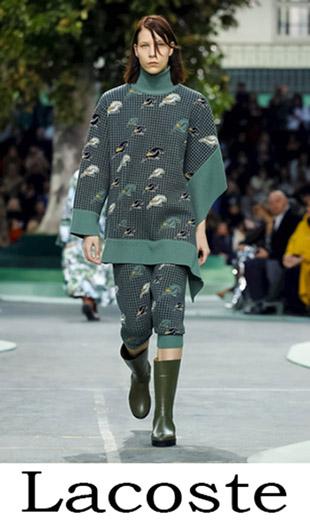 Fashion Trends Lacoste Fall Winter Women's 2