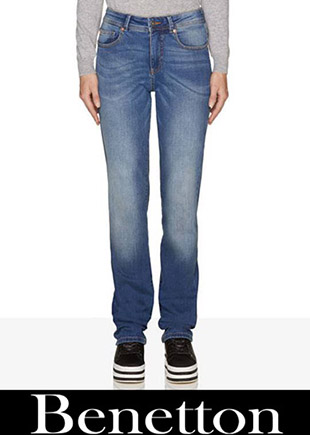 Jeans Benetton 2018 2019 New Arrivals Women's 3