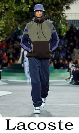 Men's Clothing Lacoste Fall Winter 2018 2019 1