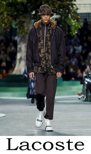 Men's Clothing Lacoste Fall Winter 2018 2019 2
