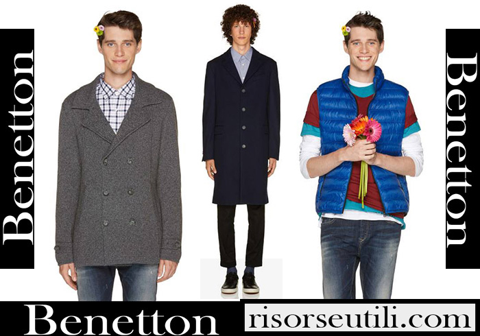 New Arrivals Benetton 2018 2019 Men's Outerwear