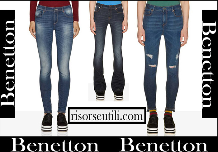 New Arrivals Benetton 2018 2019 Women's Denim