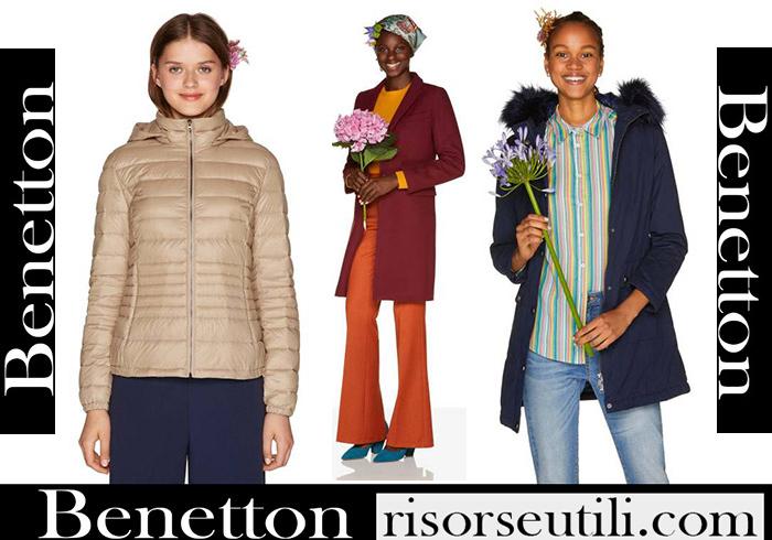 New Arrivals Benetton 2018 2019 Women's Outerwear