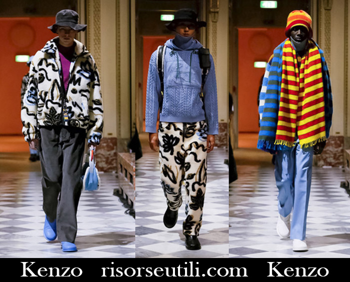New Arrivals Kenzo 2018 2019 Men's Clothing