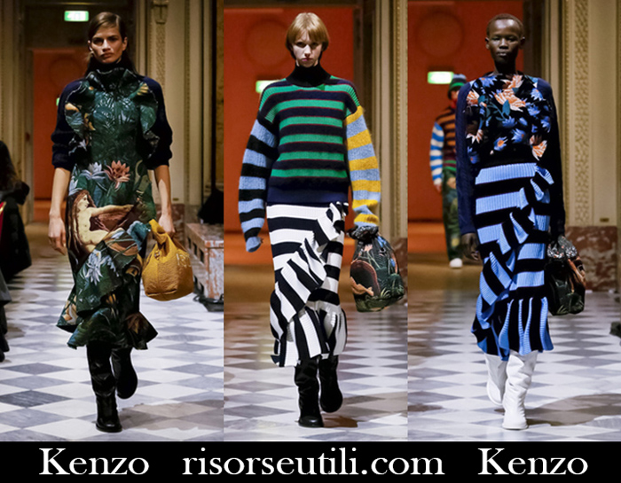 New Arrivals Kenzo 2018 2019 Women's Clothing