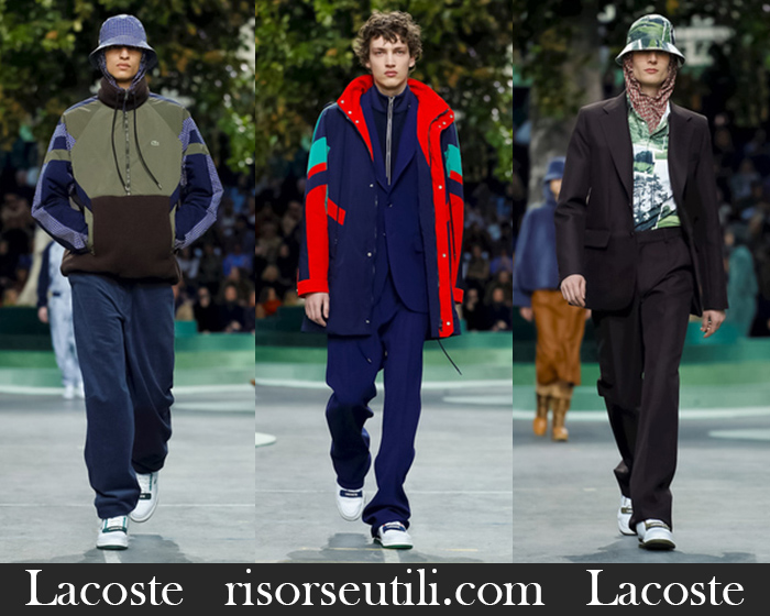 New Arrivals Lacoste 2018 2019 Men's Clothing