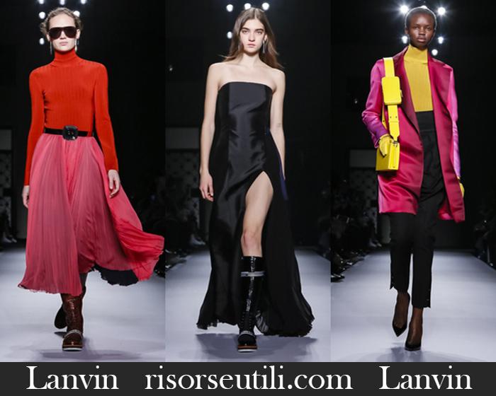 New Arrivals Lanvin 2018 2019 Women's Clothing