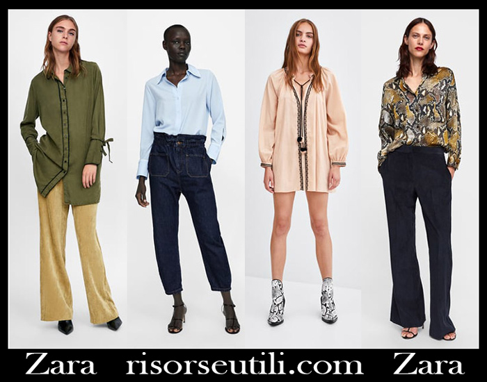 New Arrivals Zara 2018 2019 Women's Blouses