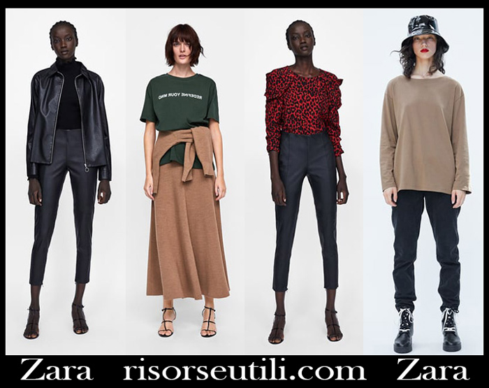 Clothing Zara 2018 2019 Women S New Arrivals Fall Winter
