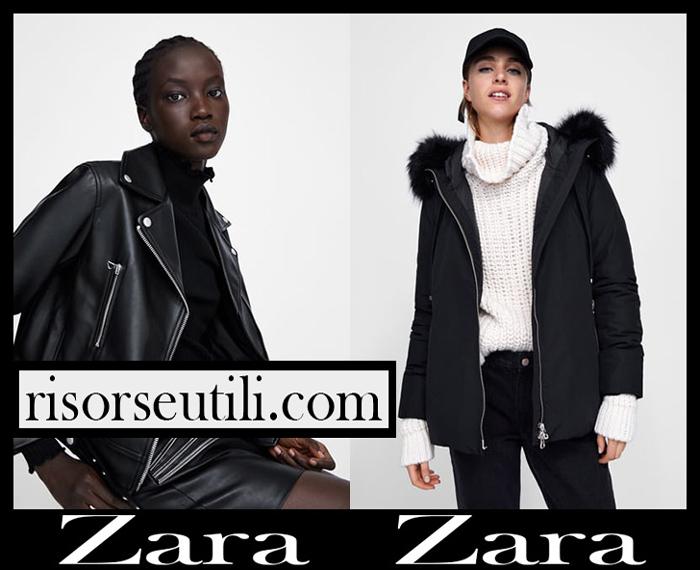 New Arrivals Zara 2018 2019 Women's Outerwear
