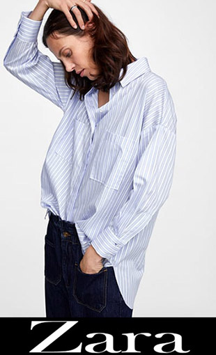 Shirts Zara 2018 2019 New Arrivals Women's 2