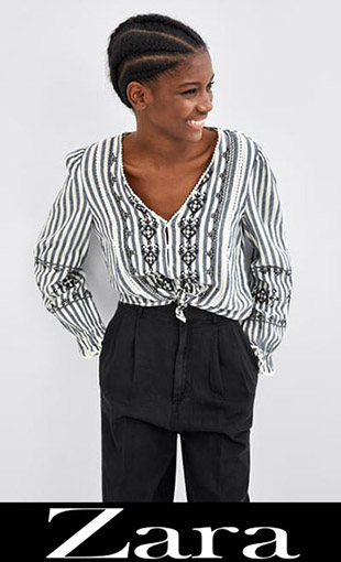 Shirts Zara 2018 2019 New Arrivals Women's 6