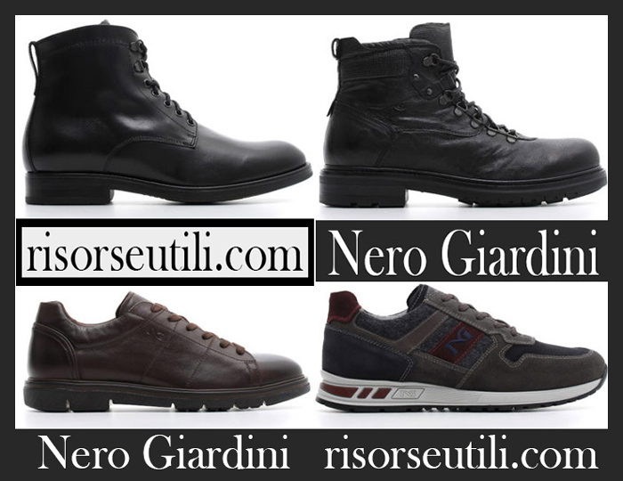 Shoes Nero Giardini 2018 2019 Men's New Arrivals Fall Winter