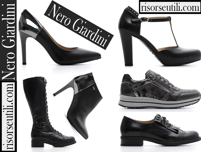 Shoes Nero Giardini 2018 2019 Women's New Arrivals Fall Winter