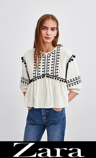 Women's Blouses Zara Fall Winter 2018 2019 5