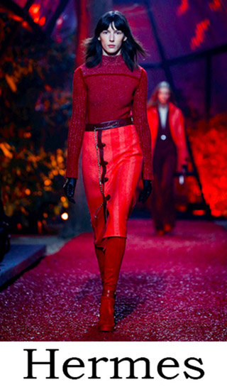 Women's Clothing Hermes Fall Winter 2018 2019 3
