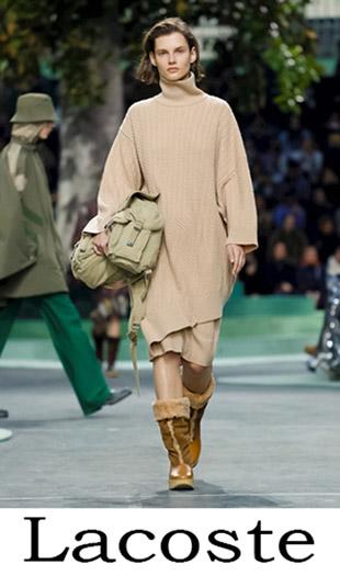 Women's Clothing Lacoste Fall Winter 2018 2019 3
