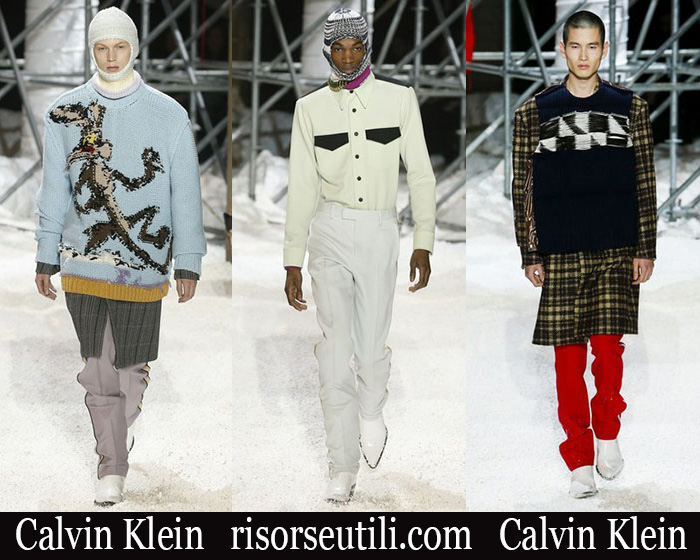 Clothing Calvin Klein 2018 2019 Men's New Arrivals Fall Winter