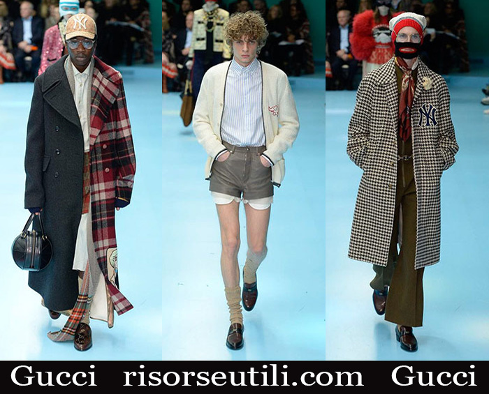 Clothing Gucci 2018 2019 men's new arrivals fall winter