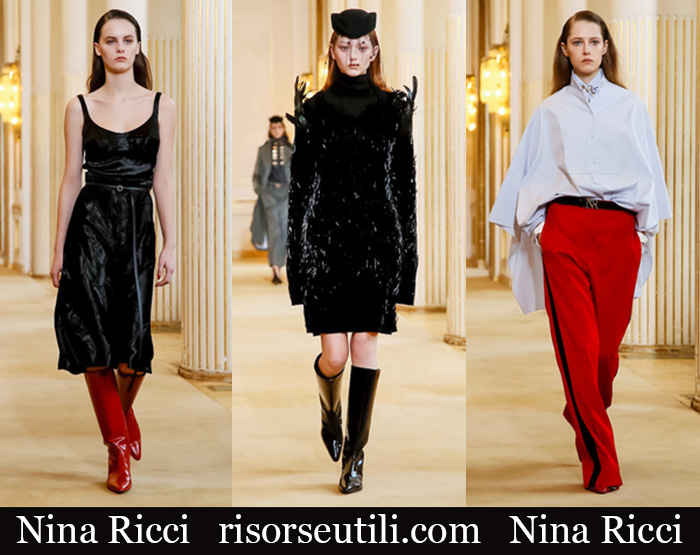 Clothing Nina Ricci 2018 2019 Women's New Arrivals Fall Winter