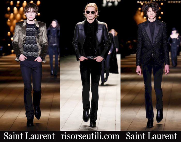 Clothing Saint Laurent 2018 2019 Men's New Arrivals Winter