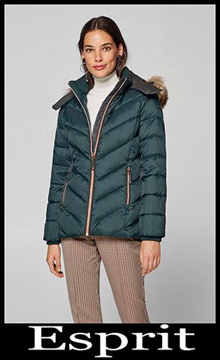 Down Jackets Esprit 2018 2019 Women's New Arrivals 1