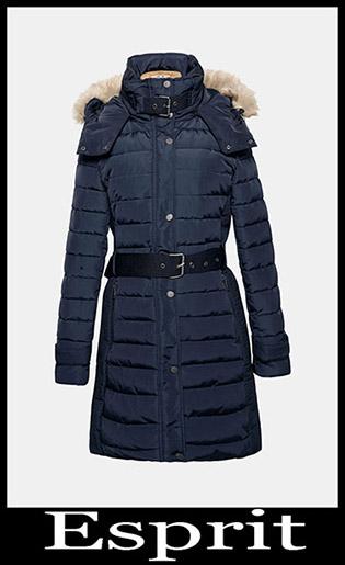 Down Jackets Esprit 2018 2019 Women's New Arrivals 17