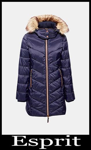 Down Jackets Esprit 2018 2019 Women's New Arrivals 19