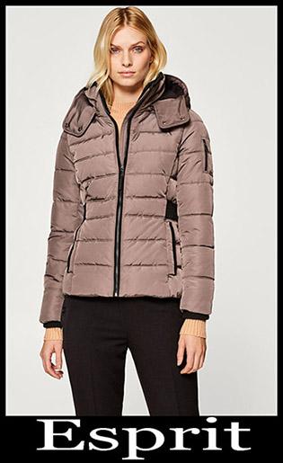 Down Jackets Esprit 2018 2019 Women's New Arrivals 21